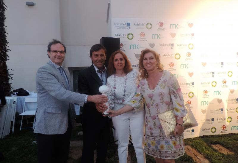 Photocall de los premios Fundamed