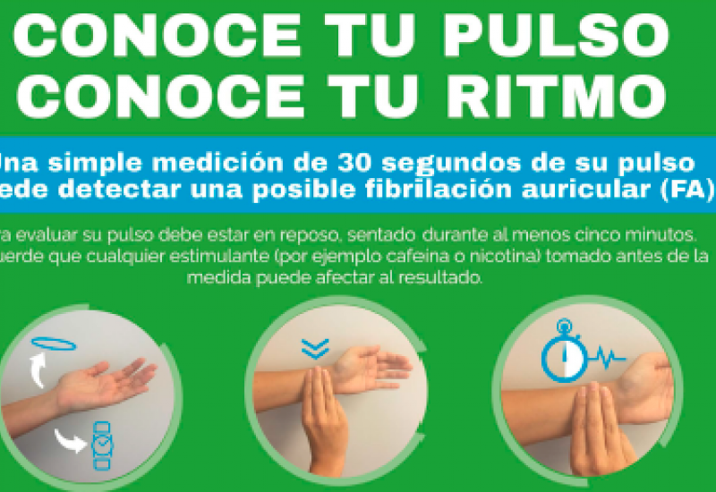 Póster campaña Know your pulse